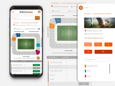 E-commerce Webview UI