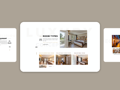 Hotel Booking Web UI - Swandor travel advice design 2019trends ux booking hotel ui interior room restaurant responsive swandor