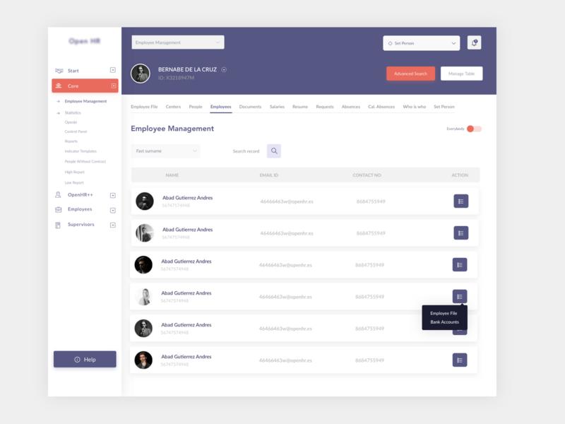Dashboard hr management ux search design colors dashboad ui design uiux ui