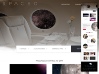 SPACED Challenge Landing page