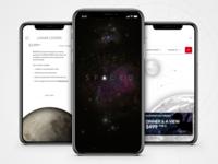 SPACEDchallenge app preview