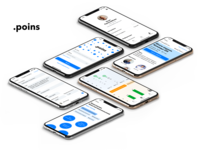Poins - a concept of radical transparency mobile app