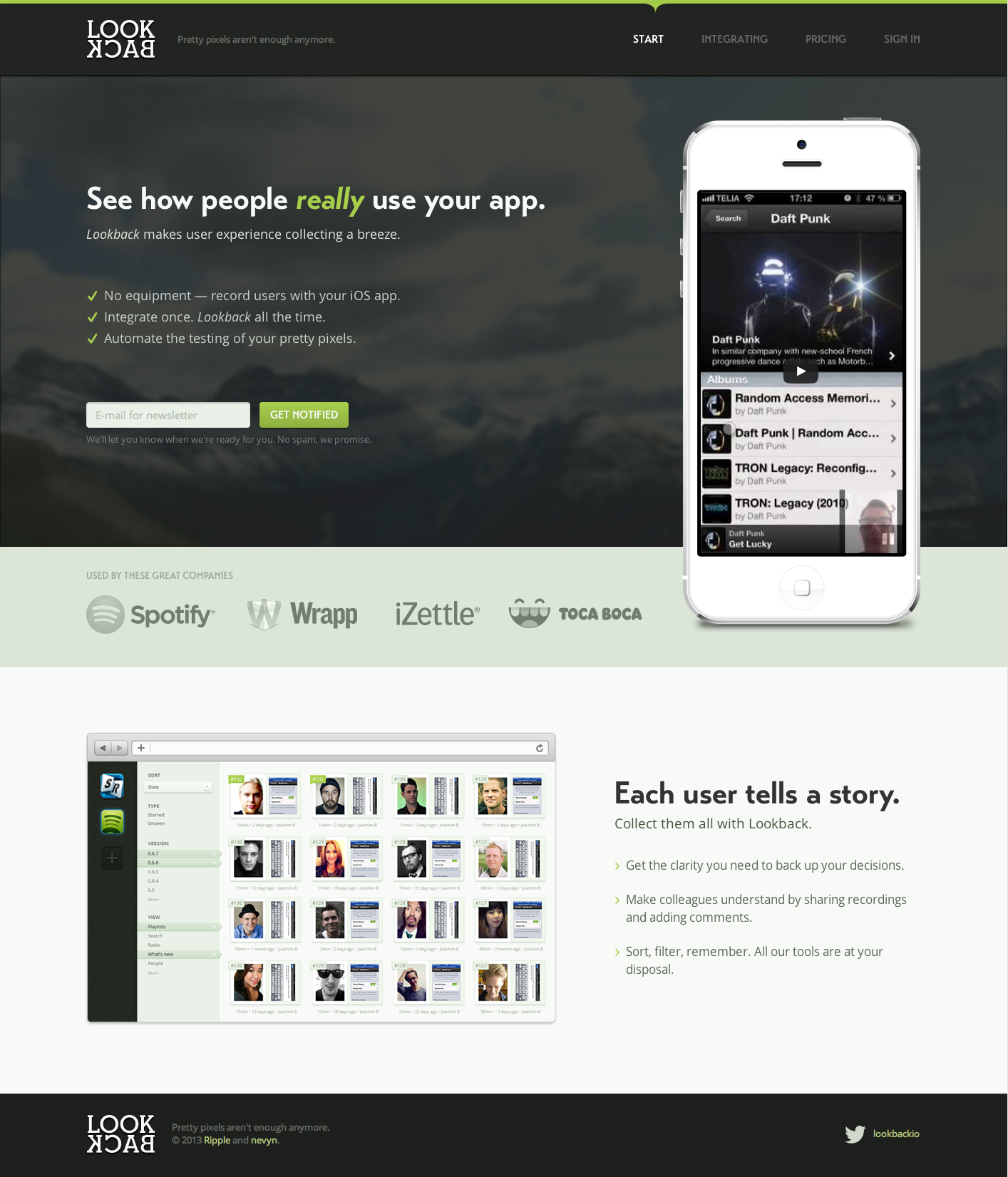 Lookback   user experience collecting for ios