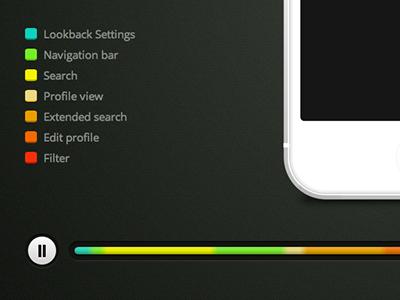 Lookback's new player lookback ui ux mobile testing player