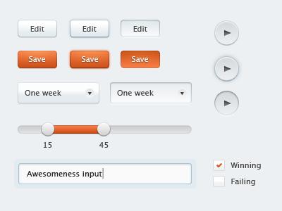 UI Elements ui buttons interface slider bootstrap