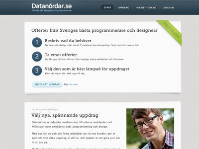 Datanördar website darling