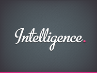 Intelligence - understanding ourselves