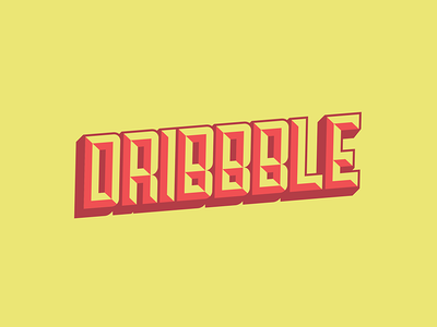 Dribbble!