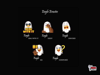 Eangle Twitch Emotes