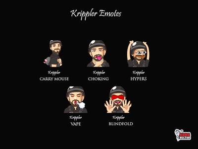 Krippler Twitch Emotes