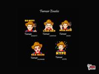 Farmer Twitch Emotes