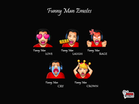 Funny Man Twitch Emotes