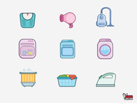 Home Appliances Icon Collection