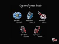 Digivice Digimon Emote