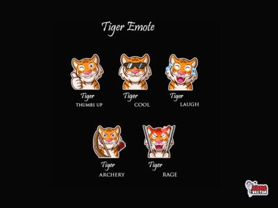 Tiger Twitch emote