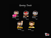 Gaming twitch emote
