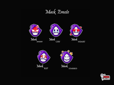 Mask twitch emote