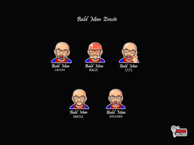 Bald Man Twitch Emote