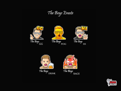 The Boys Twitch Emote