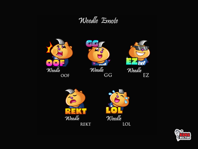 Weedle Twitch Emote amazing cartoon cute weedle lol rekt ez gg oof graphicforstream streamers emoji sticker customemote emoteart design art emotes twitchemote twitch twitchemotes