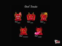 Devil Twitch Emotes