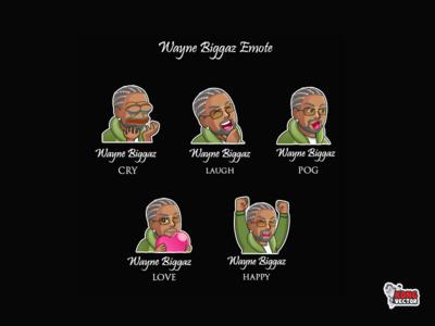 Wayne Biggaz Twitch Emotes