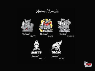 Animal Twitch Emote