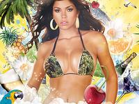 Tropical PSD Spring Summer Beach Night Flyer Party