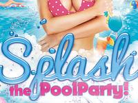 Splash Pool Party Flyer PSD Template