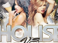 House VS Hip Hop Flyer Template