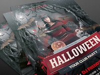 Halloween Flyer Template PSD
