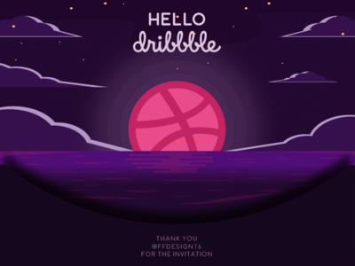 Firstshot ! Hello Dribbble