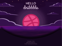 Firstshot ! Hello Dribbble