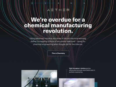 Exploring Styles science medical business styleguide layout style guide color light lines dark typogaphy style