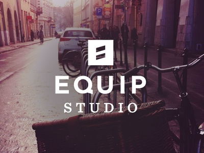 Equip Studio Logo and Brand Package logo gotham sentinel