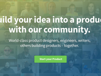 Build your idea into a product with our community