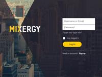 Mixergy Login Options