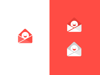 Really Good Email Logos icon email reverse logos