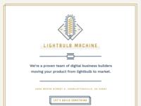 Lightbulb Machine