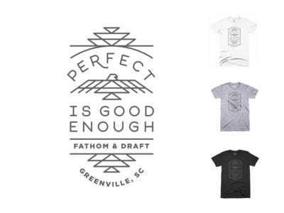 Perfect is good enough tee shirt