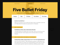 Tim Ferriss Email Redesign
