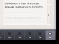 iPad Tab