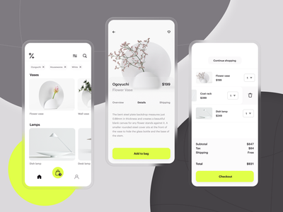 Circle Plus Shopping App application ui app design application app ios mobile mobile ui mobile app product design productdesign checkout e-commerce ecommerce e-commerce design web app shopping app dailyui daily ui ui ux