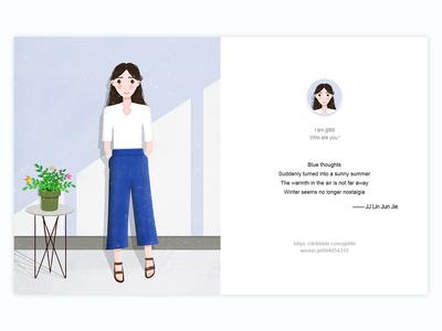 summer vector ux inbetweening inset ikons ui web design design
