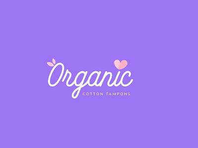 Organic Cotton Logo Design - Opt 1