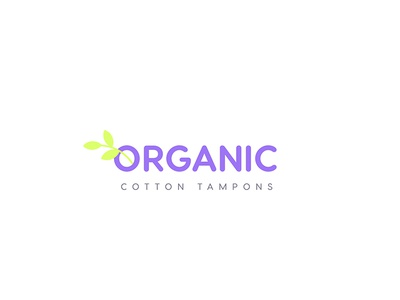 Organic Cotton Logo Design - Opt 2