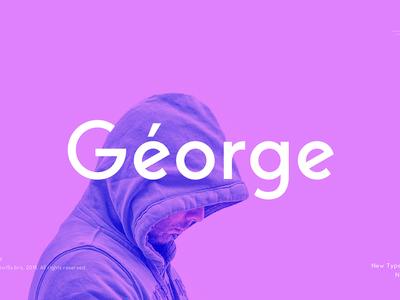 George Sans Geometric Font