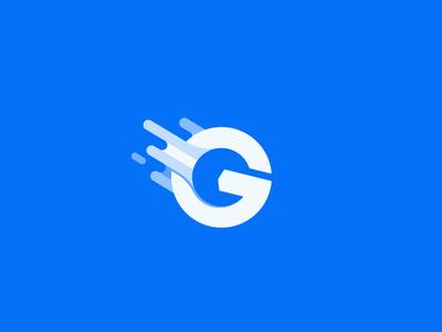 Letter G - Go Car Service Logo