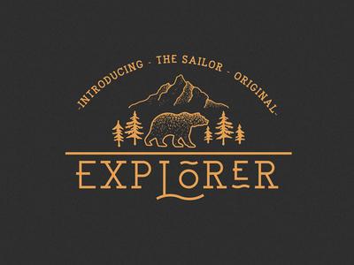 EXPLORER - Sailor Original Typeface Preview