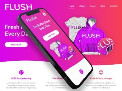 Theme-FLUSH branding ui